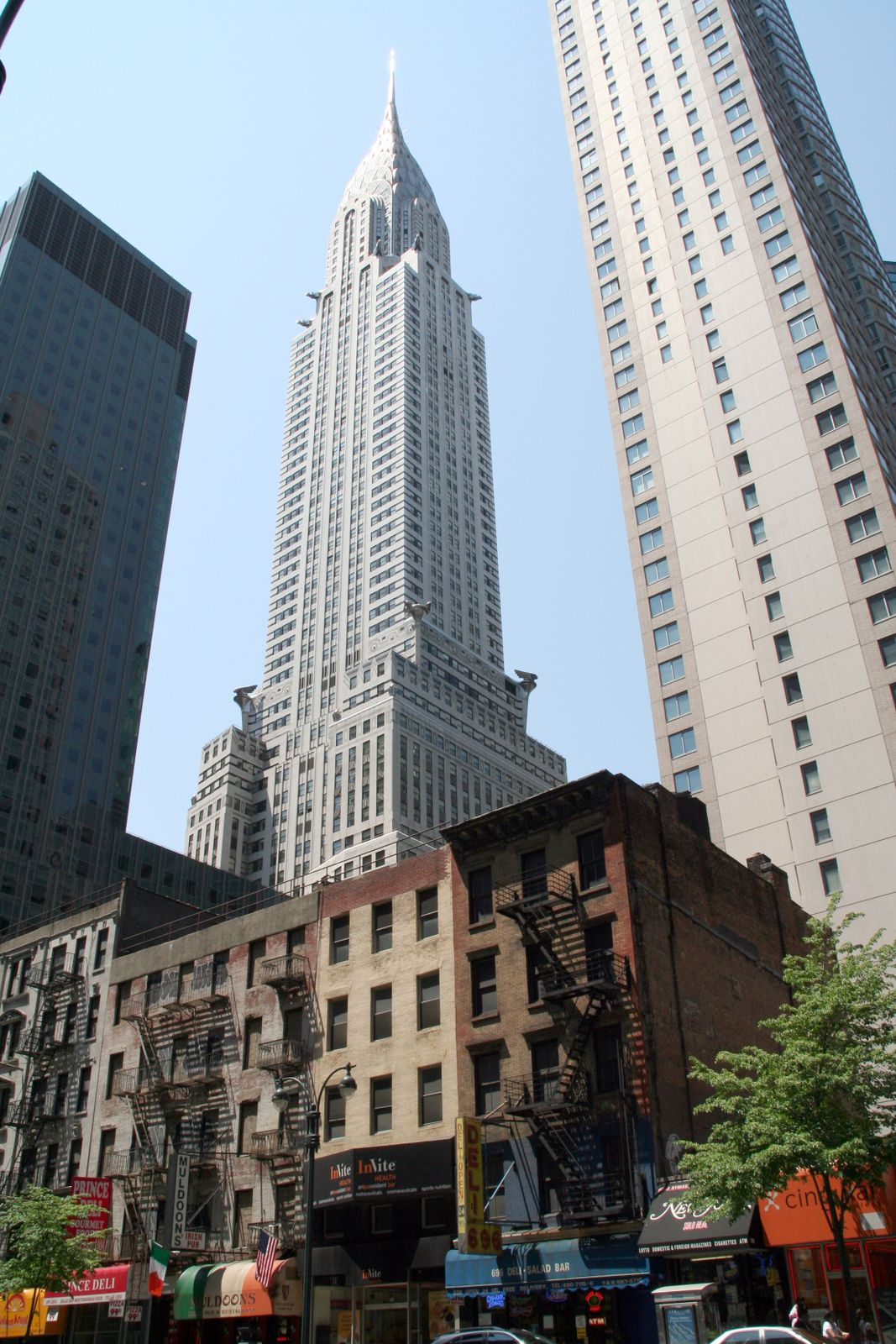 High buildings in New York
