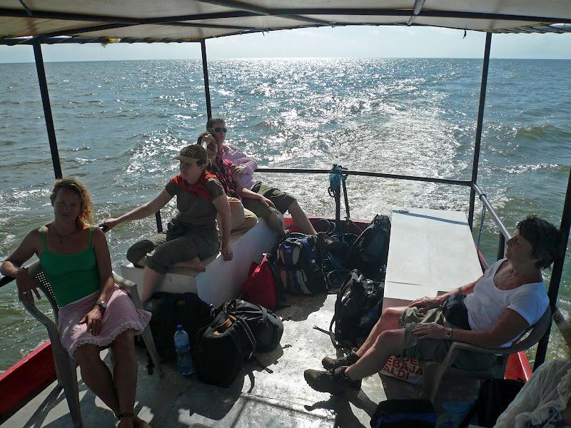 Op weg naar Isla de Ometepe in het meer van Nicaragua