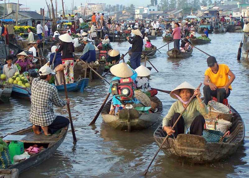mekongdelta in Vietnam