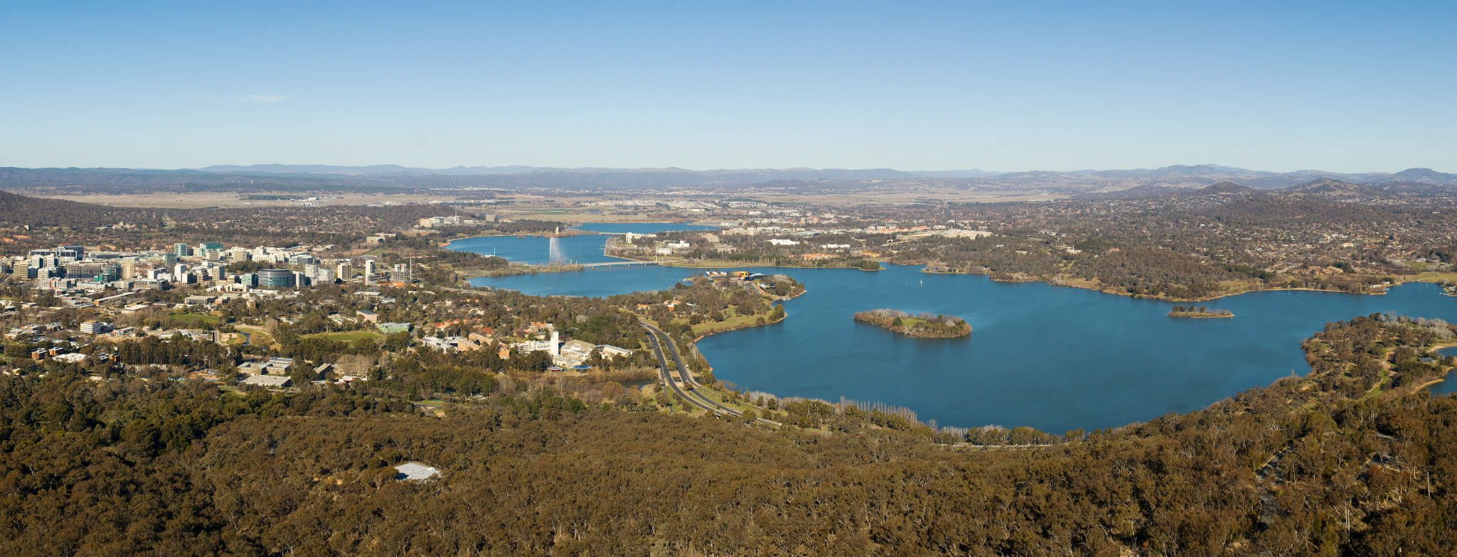 Canberra, foto door JJ Harrison (Wiki media)