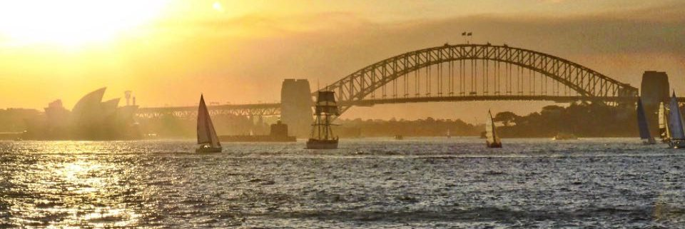Sydney Opera house en Harbour Bridge