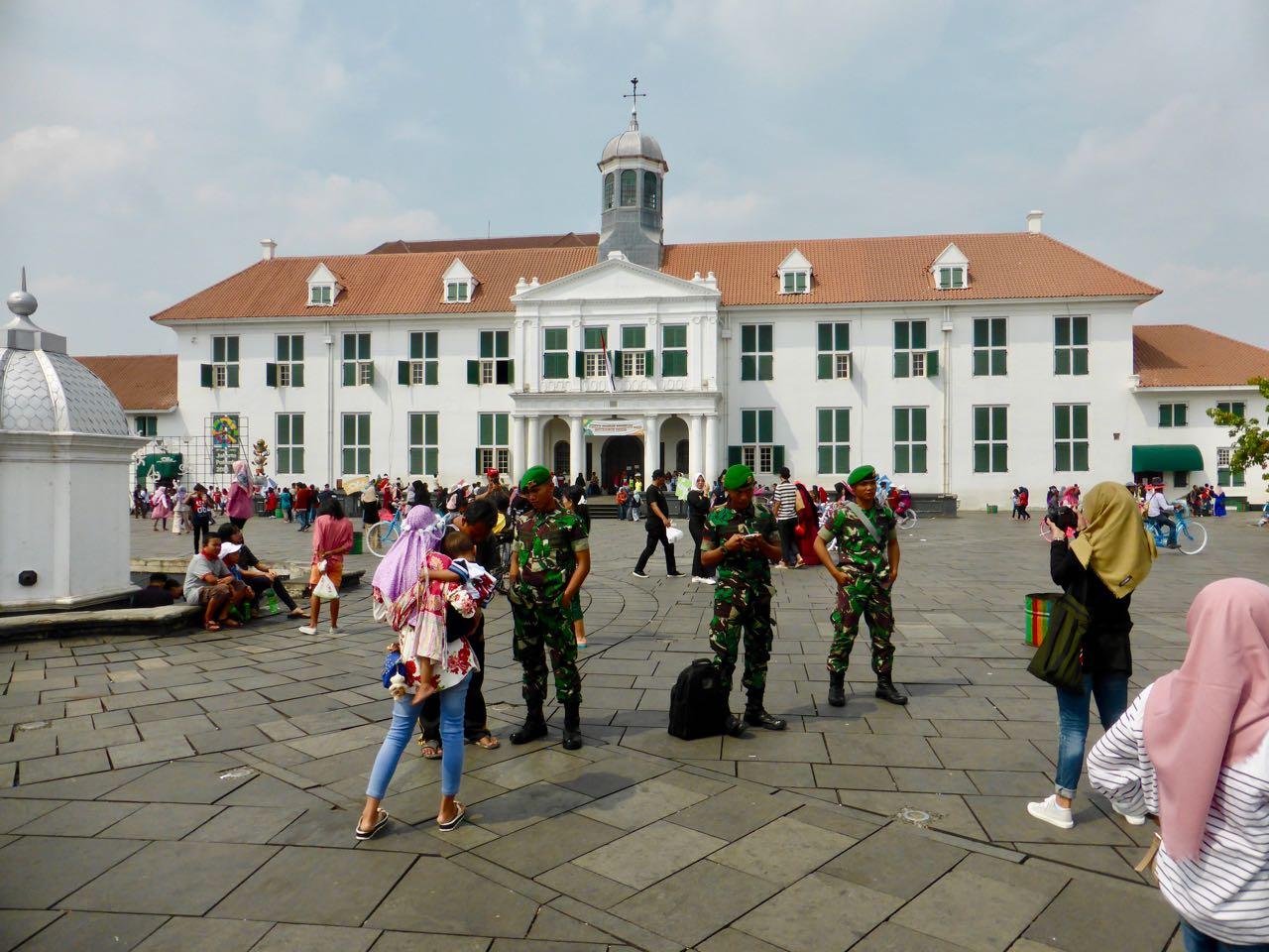 Voormalige stadhuis in Jakarta