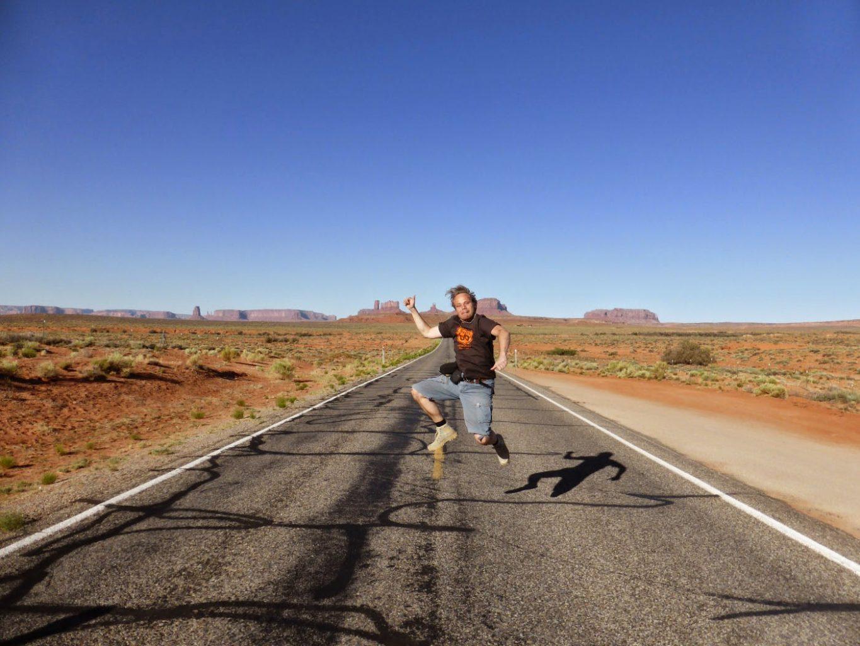 Op weg naar Monument Valley