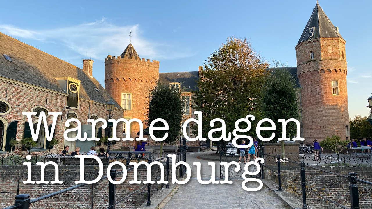 Warme dagen in Domburg
